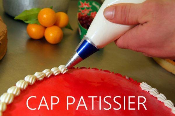 Épreuve CAP Blanc Pâtissier 2018