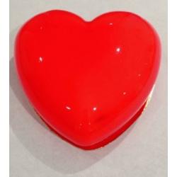 Le Cœur d'Elodie avec son glaçage rouge ultra brillant