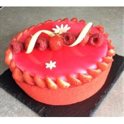 Cheesecake fraises