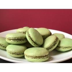Macaron chocolat blanc spéculoos
