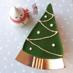 Part de trianon version sapin de Noël